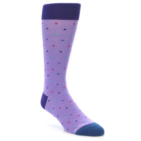 21941-Lavender-Purple-Polka-Dot-Men's-Dress-Sock-Unsimply-Stitched01