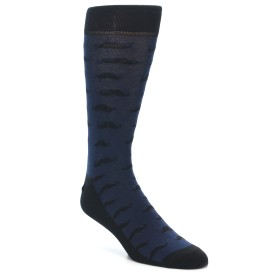 21953-Navy-Black-Mustache-Men's-Dress-Socks-Yo-Sox01