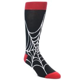 21954-Black-White-Spider-Web-Men's-Dress-Socks-Yo-Sox01