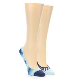 21967-Seafoam-Stripe-Women's-No-See-Um-2-Pack-Socks-PACT01