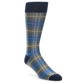 21972-Grey-Blue-Navy-Plaid-Men's-Dress-Sock-Vannucci01