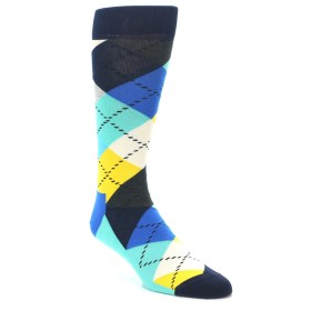 21990-Blues-Yellow-Argyle-Mens-Dress-Socks-Happy-Socks01