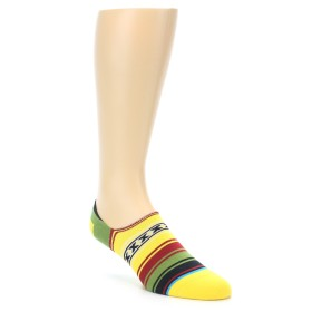 21996-Yellow-Red-Green-Stripe-Mens-Liner-Socks-STANCE01