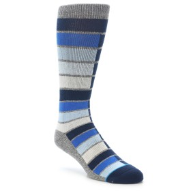 21997-Navy-Blue-Grey-Partial-Stripe-Mens-Casual-Socks-STANCE01