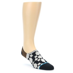 21999-Black-Grey-Brown-Mens-Liner-Socks-STANCE01