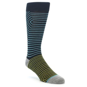 22000-Navy-Blue-Yellow-Stripe-Mens-Casual-Socks-STANCE01