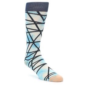 22002-Navy-Blue-Lazer-Stripe-Mens-Casual-Socks-STANCE01