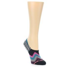 22006-Black-Grey-Pink-Zig-Stripe-Womens-No-Show-Socks-STANCE01