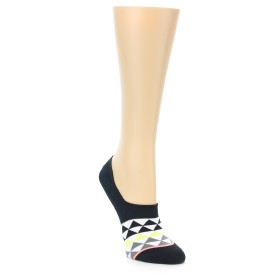 22007-Black-White-Triangles-Womens-No-Show-Socks-STANCE01