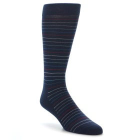 22102-Navy-Blue-Red-Stripe-Mens-Dress-Socks-Happy-Socks01