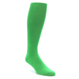 Kelly Green Men's Over the Calf Dress Socks