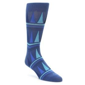 22114-Blue-Triangles-Men-s-XL-Dress-Socks-Richer-Poorer01