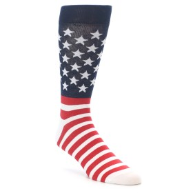 22120-Red-White-Blue-American-Flag-Men-s-Dress-Socks-Yo-Sox01