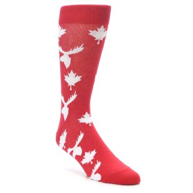 Canadian Leaf and Moose Men's Socks