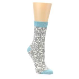22139-Grey-White-Patterned-Women-s-Dress-Socks-PACT01