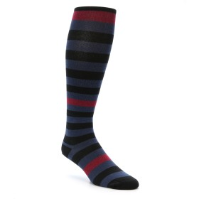 Vim Vigr Black Blue Men's Compression Socks