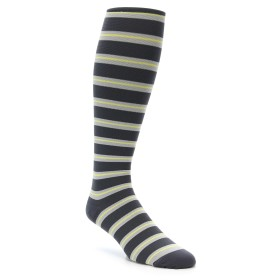 Vim Vigr Grey Yellow Compression Socks