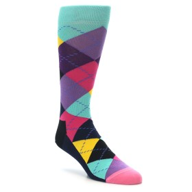 22183-Purple-Multi-Color-Argyle-Mens-Dress-Socks-Happy-Socks01