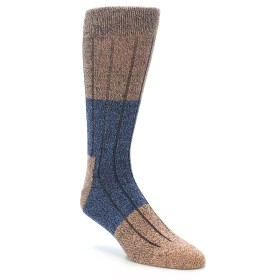 22188-Blue-Multi-Color-Wool-Blend-Mens-Dress-Socks-Happy-Socks01