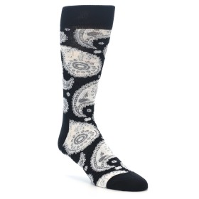 22190-Black-White-Grey-Paisley-Mens-Dress-Socks-Happy-Socks01