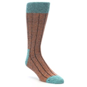 22191-Orange-Teal-Wool-Blend-Mens-Dress-Socks-Happy-Socks01