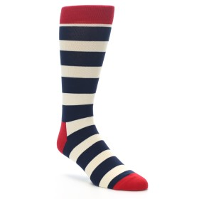 22198-Navy-Red-White-Stripe-Mens-Dress-Socks-Happy-Socks01