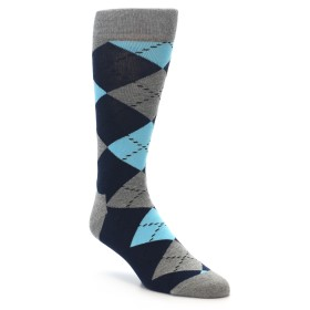 22199-Grey-Black-Blue-Argyle-Mens-Dress-Socks-Happy-Socks01