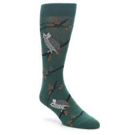 Socks with Owls on them
