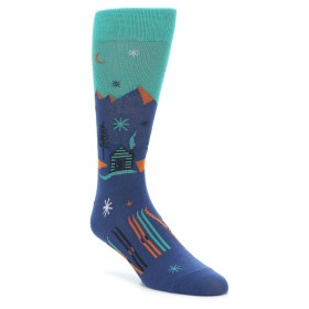 Richer Poorer Snowpeak Socks