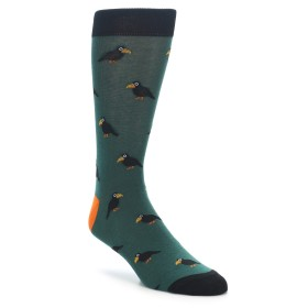 Novelty Socks with Raven Birds on them