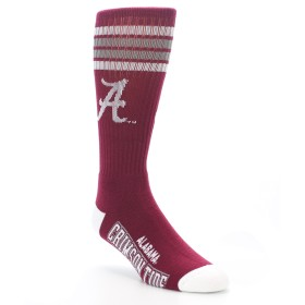 NCAA Alabama Crimson Tide Men's Socks