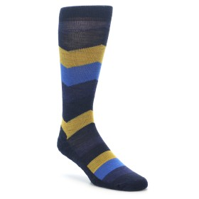Smartwool Men's Lifestyle Chevron Stripe Navy