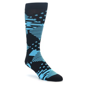 Happy Socks Multi Argyle Black and Blue