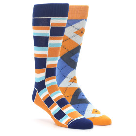 stacked-argyle-orange