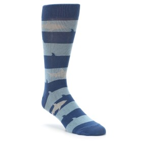 Blue Shark Socks for Men