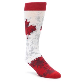 Oh Canada Men's Novelty Dress Socks