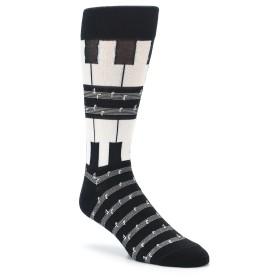 Piano Music Note Socks for Men