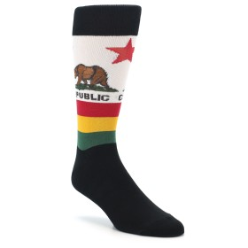 California Flag Novelty Socks for Men