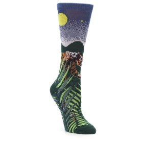 Charitable Endangered Tiger Socks for Women