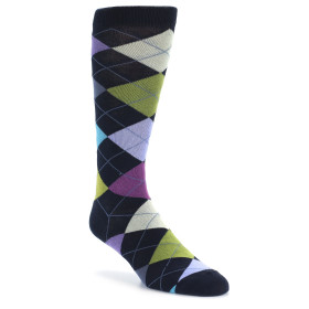 20049-navy-light-purple-green-argyle-mens-dress-sock-ozone-socks01