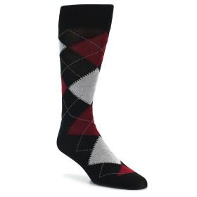 20127-black-red-grey-argyle-mens-dress-sock-vannucci01