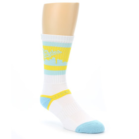 21279-yellow-light-blue-la-city-men's-athletic-crew-socks-strideline01