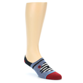 21707-blue-red-black-men's-liner-socks-stance01