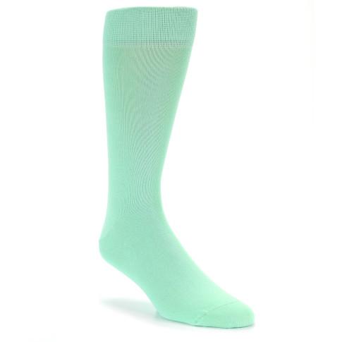 mint green solid color men s dress socks boldsocks