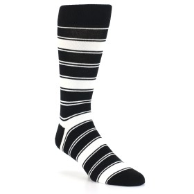 21782-black-white-stripe-men's-dress-socks-statement-sockwear01