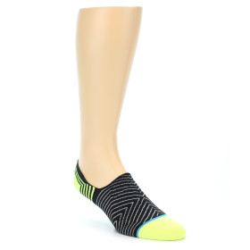 21836-Black-White-Neon-Stripe-Men's-Liner-Socks-STANCE01