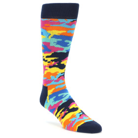 21864-Multi-Color-Camo-Men's-Dress-Socks-Happy-Socks01
