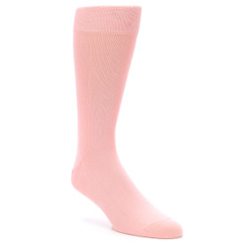 21882-Blossom-Pink-Solid-Color-Men's-Dress-Socks-boldSOCKS01