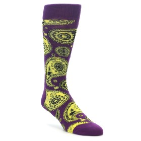 22182-Purple-Yellow-Black-Paisley-Mens-Dress-Socks-Happy-Socks01