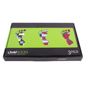 boldSOCKS Gift Box Apple Red